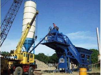 YHZS75 Mobile Batching Plant