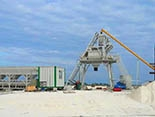 HZS35 Concrete Mixing Plant in Oman